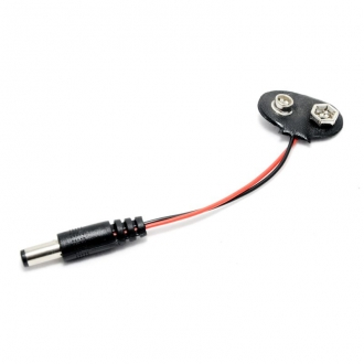 9V battery snap power cable Arduino UNO R3