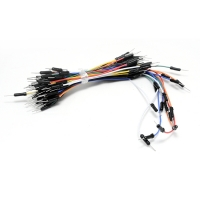 Jumper wire/cable male to male for breadboards - 65pcs